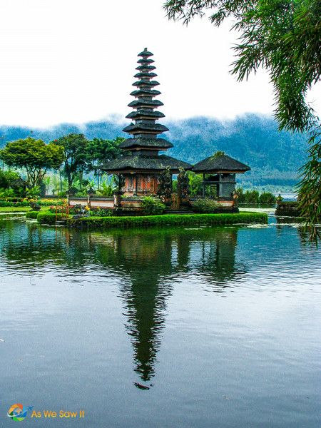 The water temple of Ulan Danu, Bedugul
