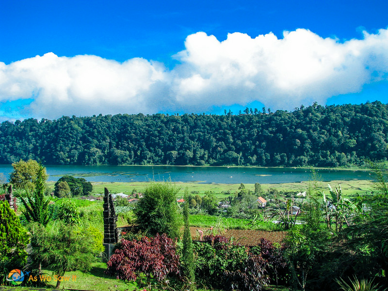 Mountain lake, Bedugul, Bali