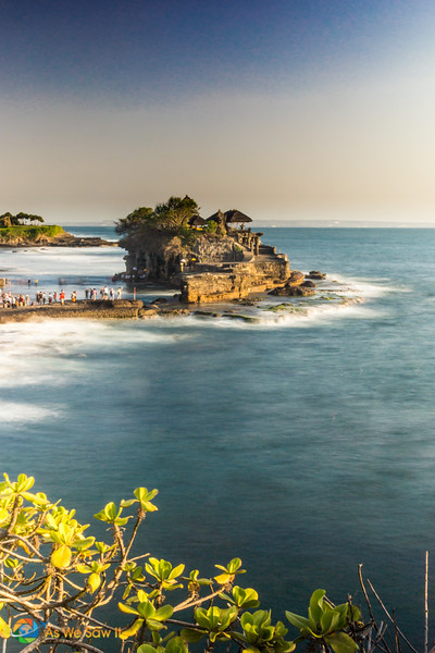 Tanah Lot, a romantic place in Southwest Bali