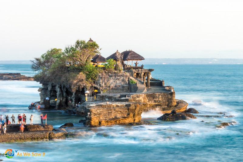 Tanah Lot - beautiful temple in Bali