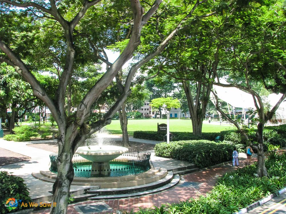 Pristine park in Singapore