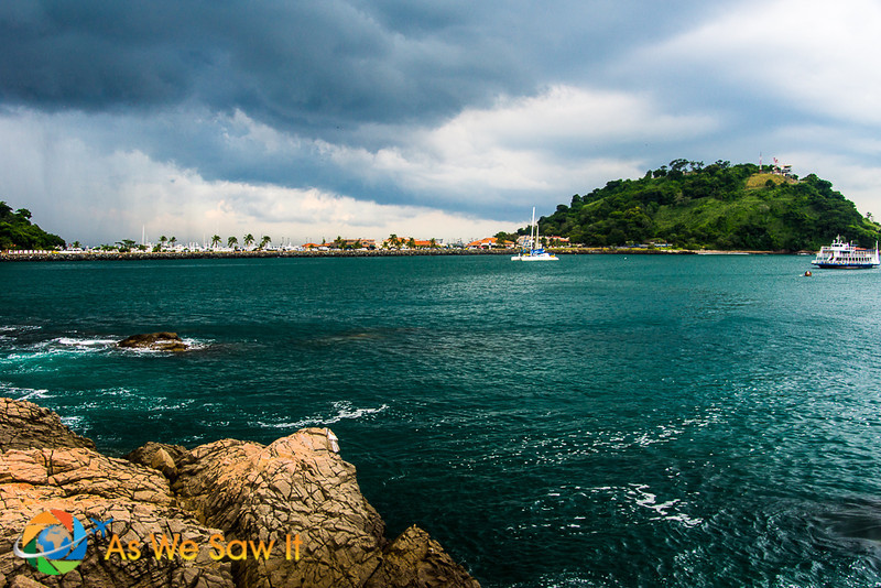 `View of Amador Causeway in Panama City
