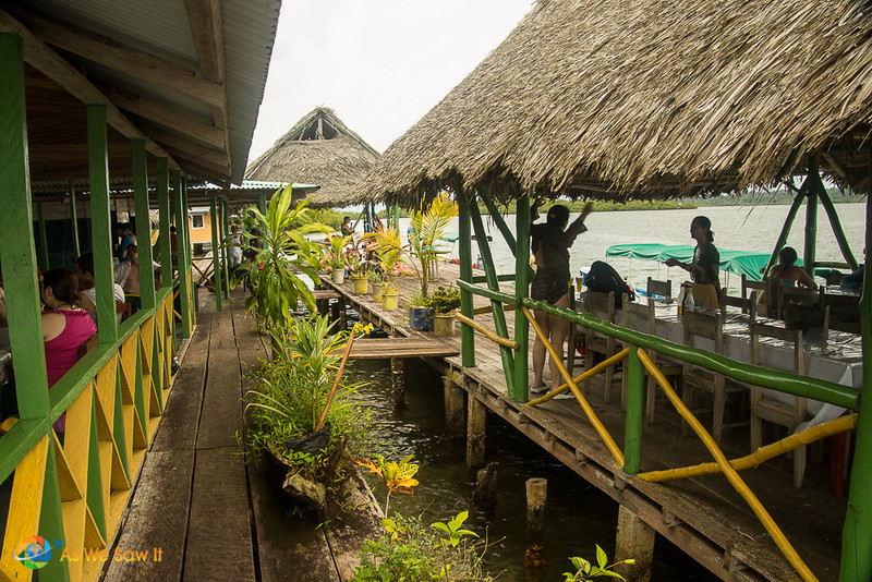 Jasmin's Cafe' located somewhere in Bocas Del Toro behind God's back.