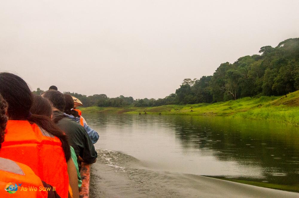 Boating on Lake Gatun