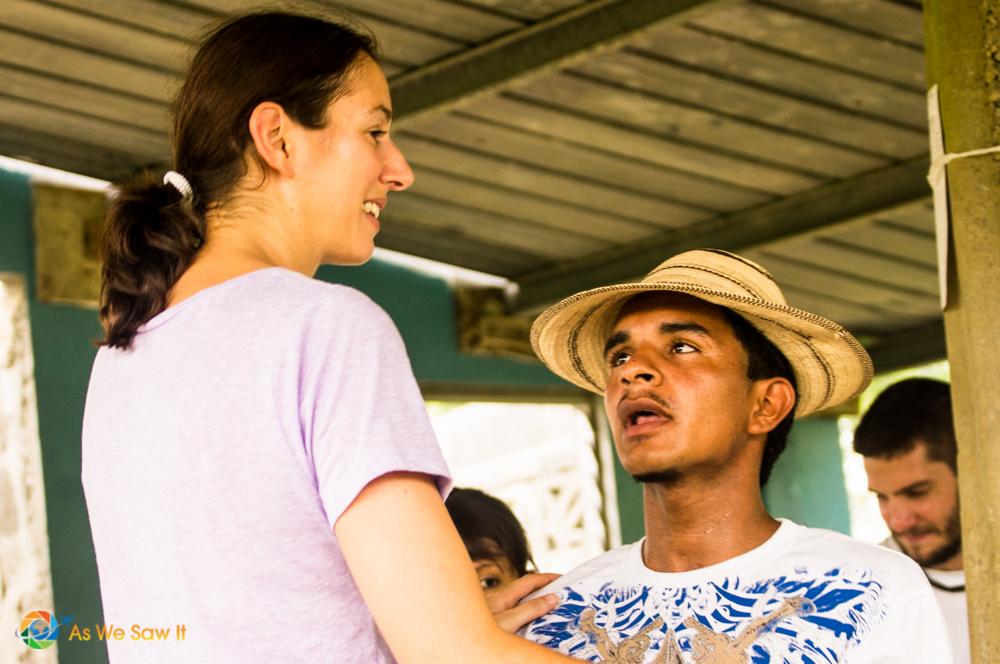 Dancing in Panamanian village