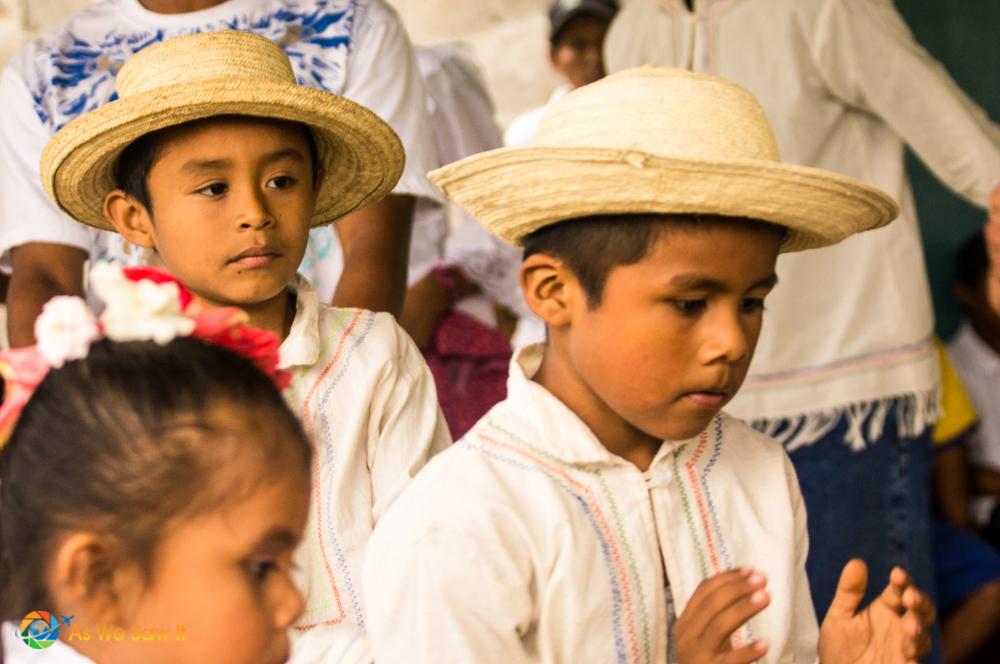 Celebrating campesino children in Panama