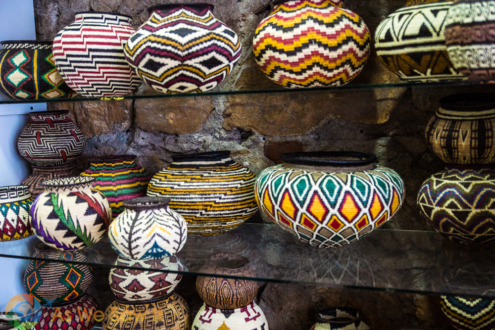 Baskets from the Embará tribe can be woven tightly enough to hold water.
