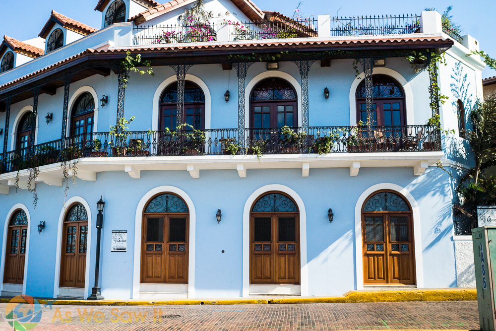 Spanish design in Casco Viejo, Panama City, Panama.
