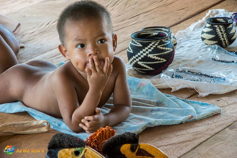 Embera baby