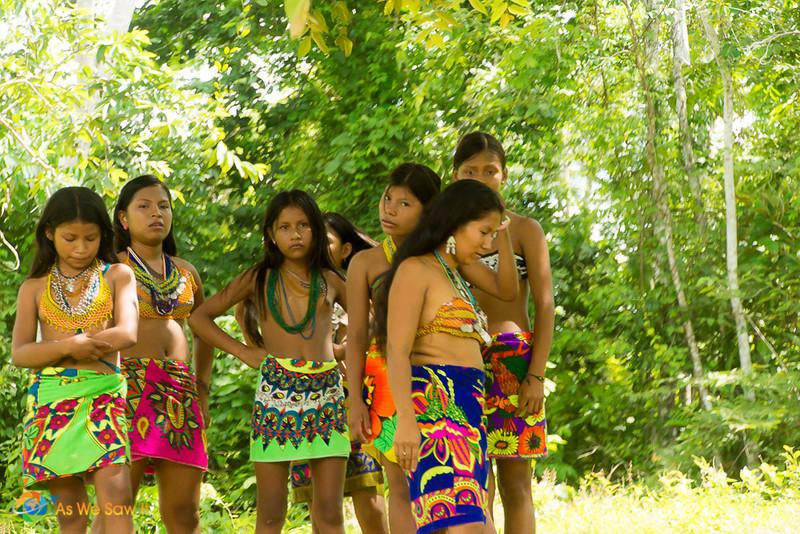 Embera People, Darien Panama