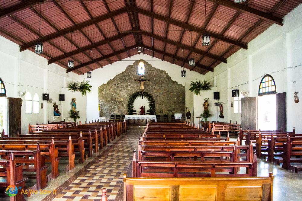 Small church in El Valle de Anton
