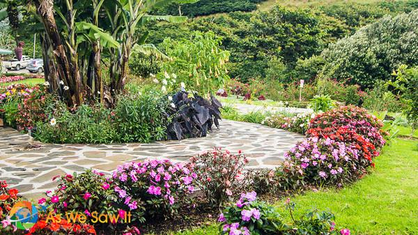 Finca Lerida garden