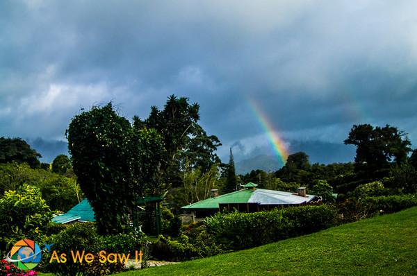 Rainbow over Boquete, Panama
