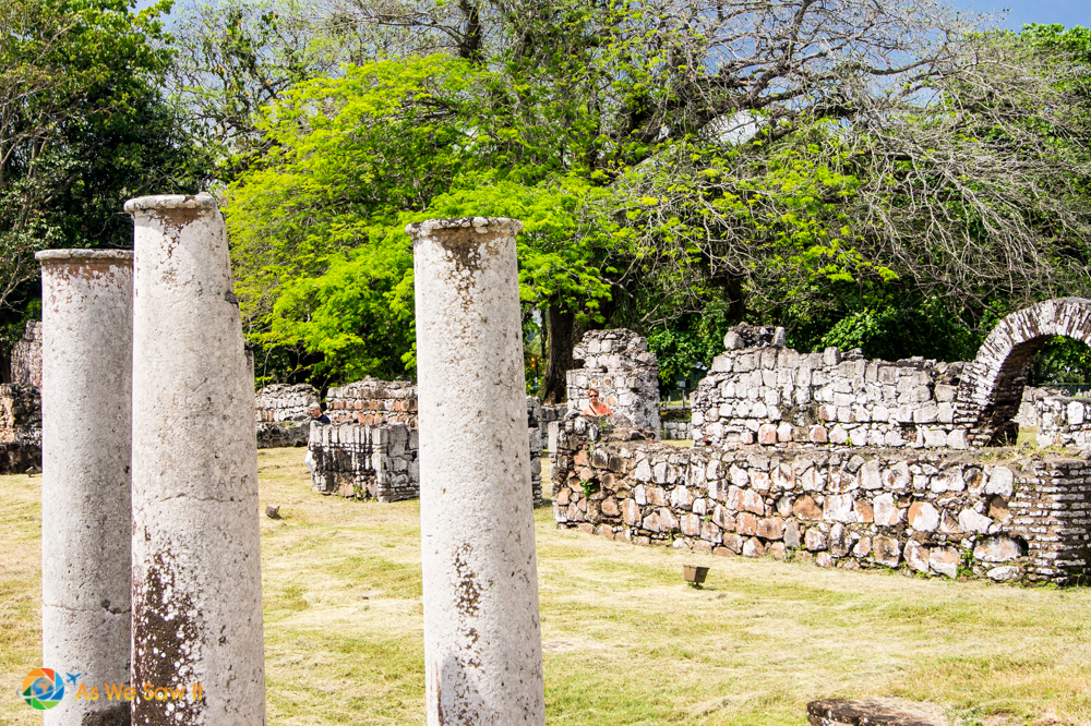 Ruins at Panama Viejo