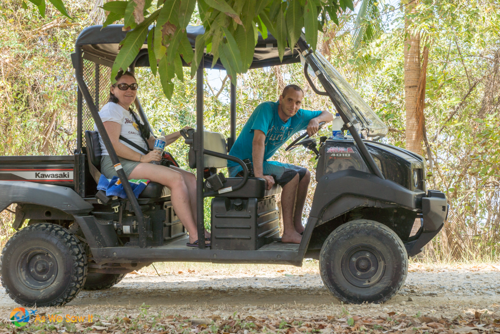 Four wheelers are available for a decent price to take you all over the island.