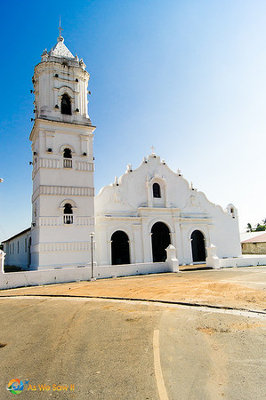Church in Nata, Panama.