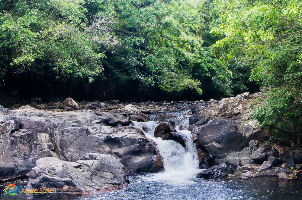 Waterfall that Nana nearly fell over.