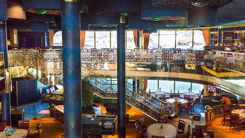 dining room aboard Holland America Rotterdam