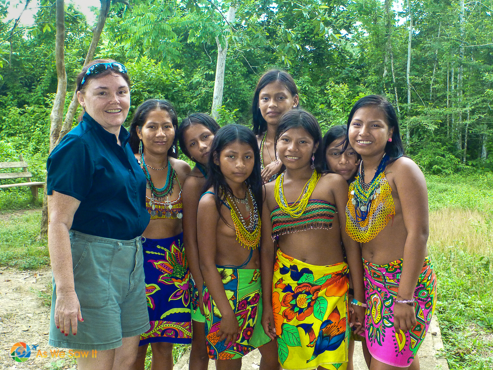AsWeSawIt in Darien with the Embera
