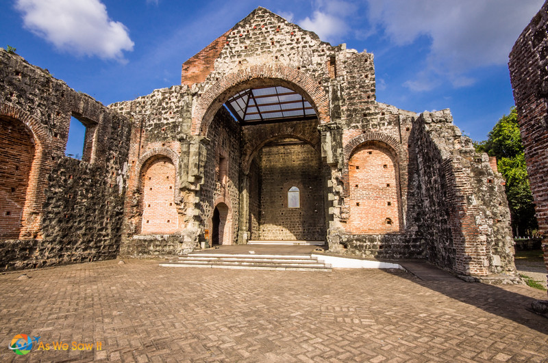 Remains of a convent in Panama Viejo