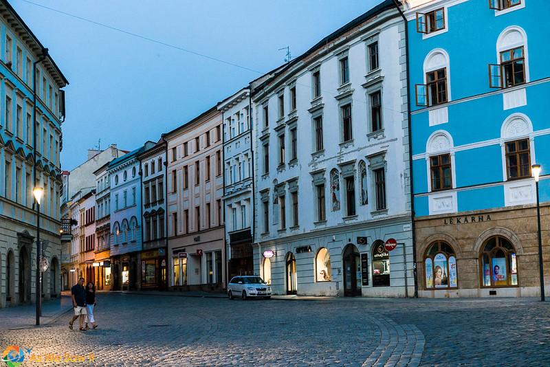 Downtown Olomouc, Czech Republic