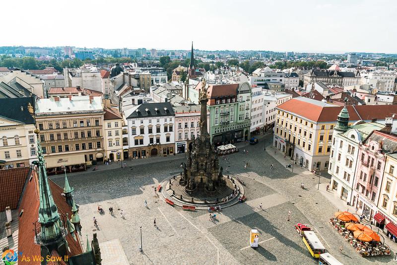 Upper Square and UNESCO Trinity Column