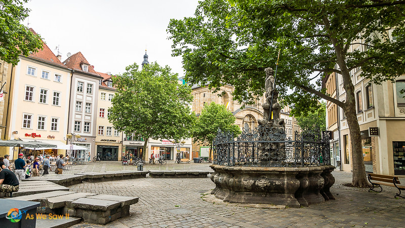 Small park in Bamberg