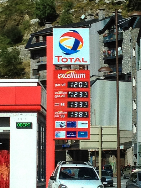 Gas%20prices%20in%20Andorra L Visiting Andorra la Vellas Old Town