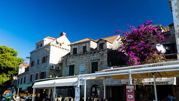 Cavtat waterfront restaurants