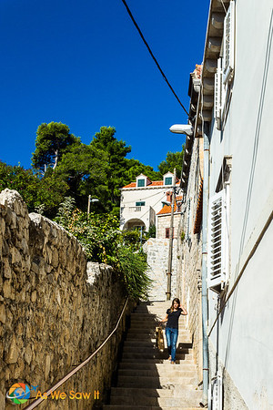 Cavtat walkway