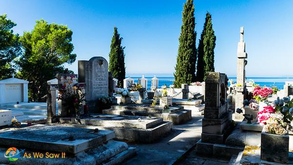 Cavtat graveyard