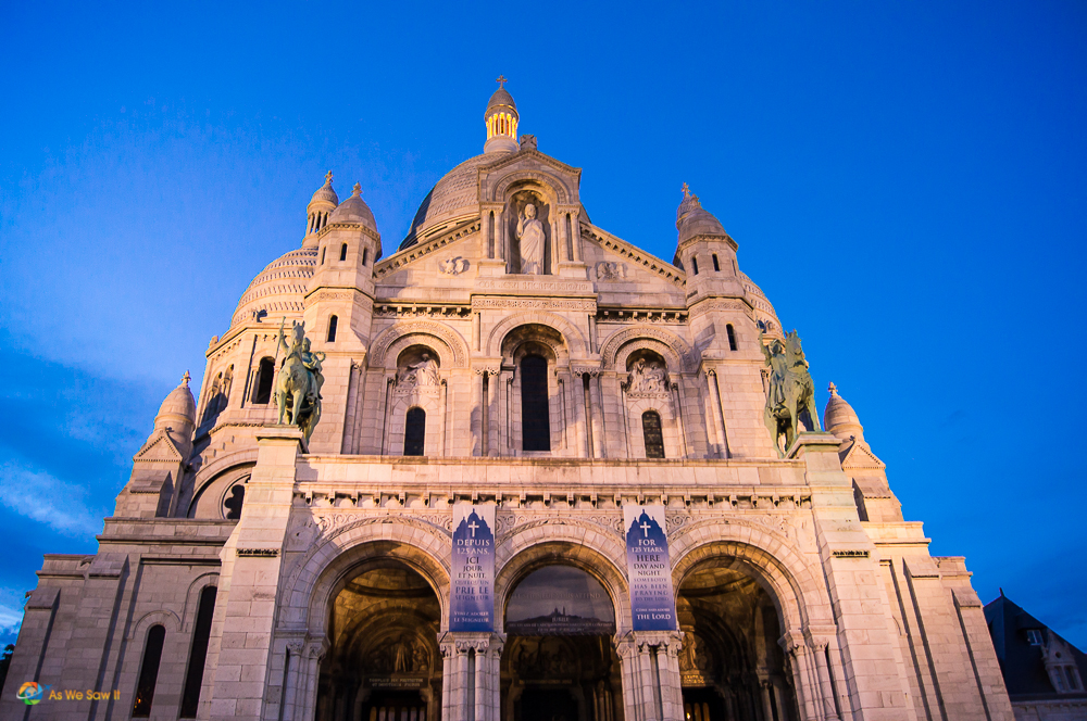 Sunsetting on Sacre Coeur, Paris