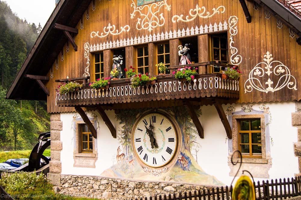 Black Forest German clock.