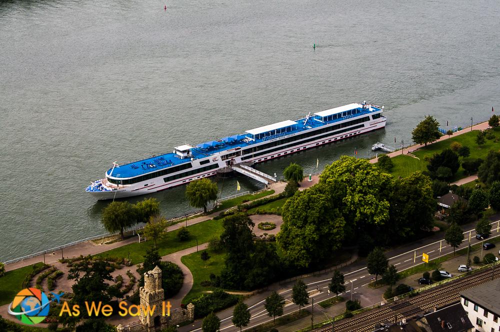 Viking River Cruises Longship Helvetica.