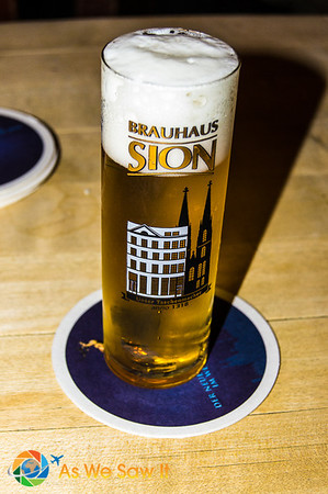 One form of Kolsch, a pale ale from Cologne
