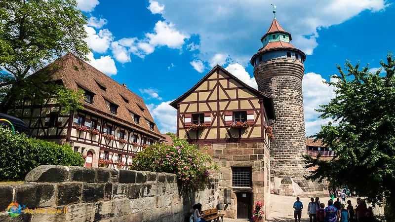 Inside Nuremberg Castle