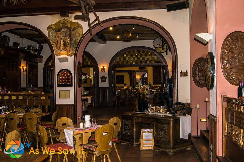 Kathe Wohlfahrt restaurant in Rudesheim am Rhein