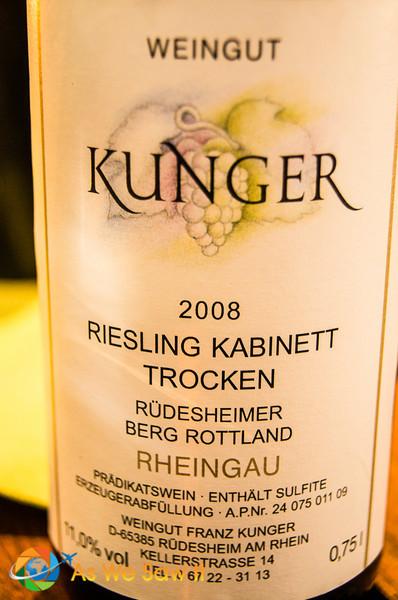 Rudesheimer riesling