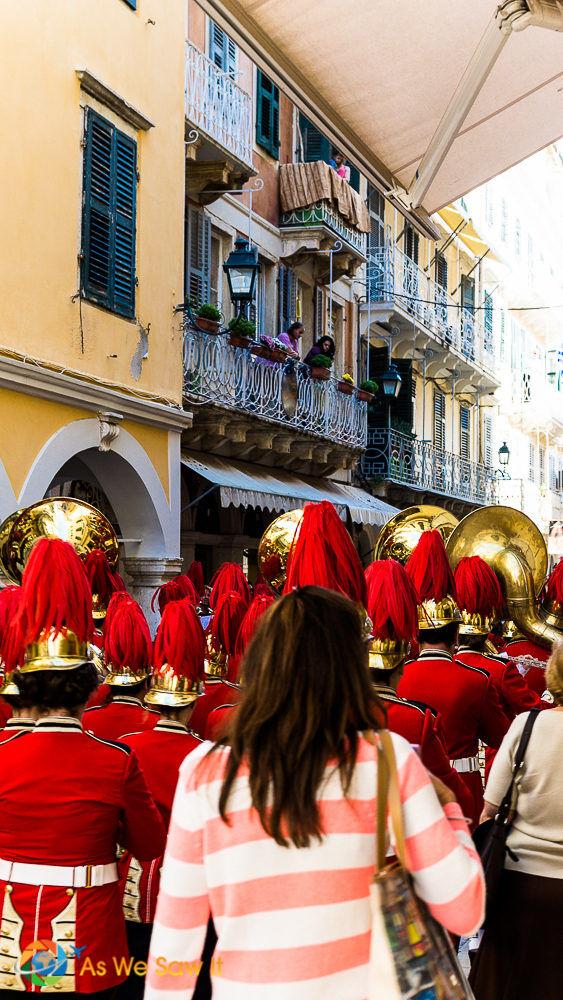 Corfu's Ohi Day paraders
