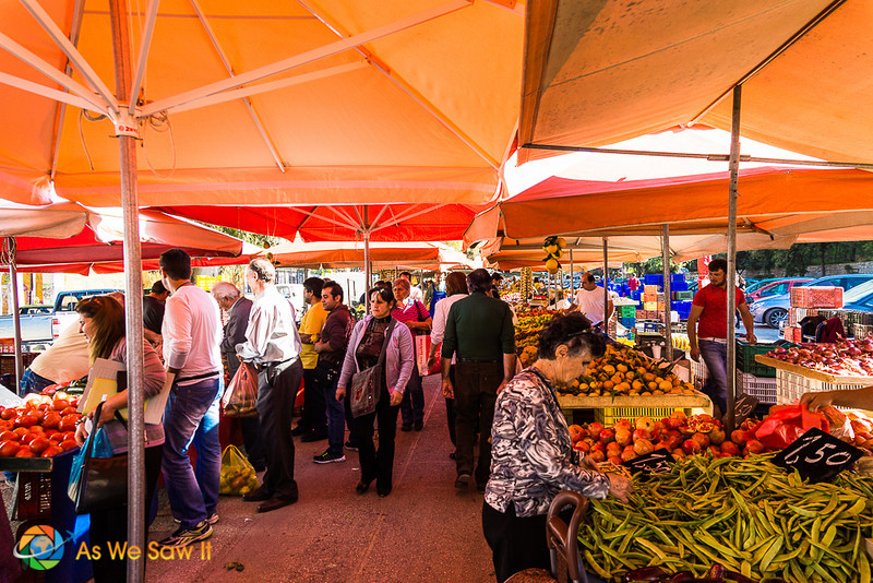 Farmer's market in Nafplion