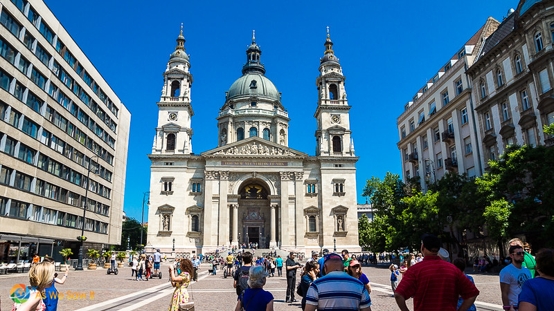In Budapest, St Stephens Basilica contains his mummified right hand.