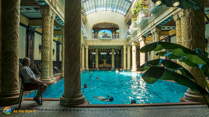 Gellert Baths main pool, Budapest