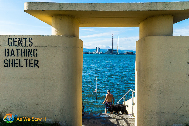 Dublin Harbor gents bathing area