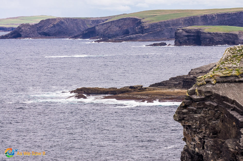 The cliffs at County Clare, Ireland