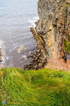 Ireland's rocky coast