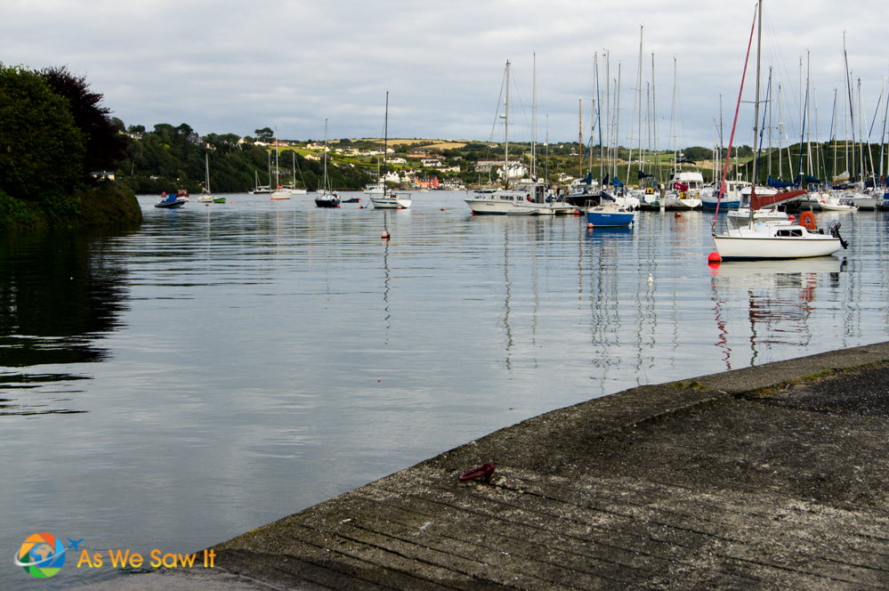Marina in Kinsale, Ireland