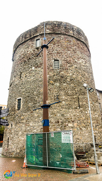 View of Reginald's tower exterior