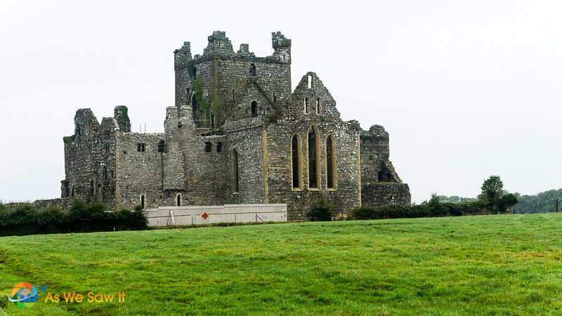 Only the shell remains of Dunbrody Abbey, a Cistercian monastery dating from 1170.