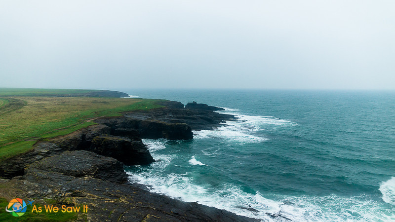 View from the top of Hook Head Lighthouse