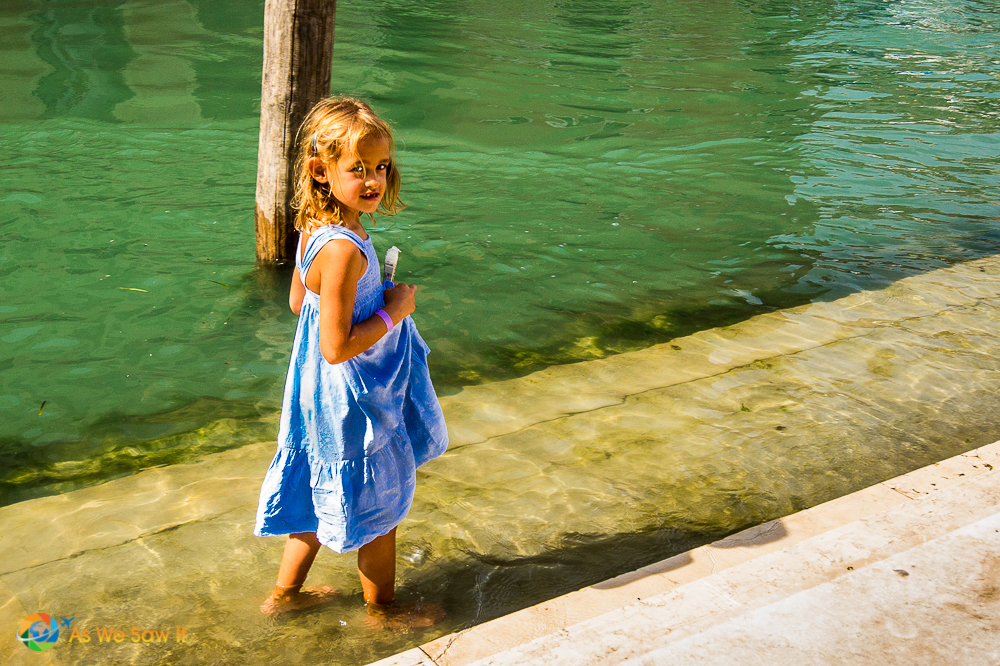 Accepting change as a little child - Cooling in the Adriatic, Venice